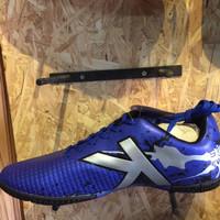 Sepatu futsal / putsal footsal kelme original Star Evo blue silver ne