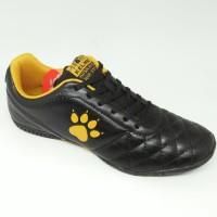 Sepatu futsal / putsal footsal kelme original Power grip black yellow