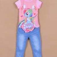 Baju Setelan Anak JW 59 D - Little pony Salem