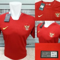 JERSEY BOLA TIMNAS INDONESIA HOME 2018/2019 TP GRADE ORI NEW EDITION