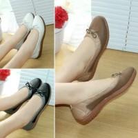 Sepatu Wanita Flat Shoes Murah Kulit Teplek BLD0808