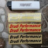 Sticker Drudi Performance