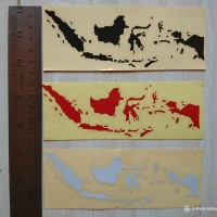 Sticker Peta Indonesia