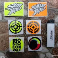 sticker Tear Off   Sticker Visor