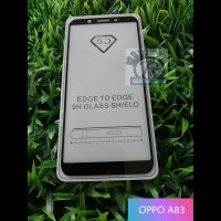 TEMPERED GLASS 5D FULL COVER OPPO A83