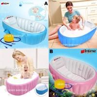 Bak Tempat Mandi Bayi|Baby Bath Up|Kado Ultah Lahiran|Hadiah Anak - B Pink