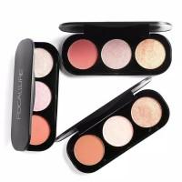 Focallure Blush and Highlighter Palette Powder