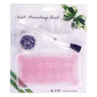 Rhinestones Stamping Tools Set for Nail Art