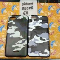 SoftCase / Casing Army Xiaomi Redmi 6a Soft Anti Crack Shock Case Mi 6