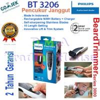 Alat Cukur Rambut Philips - Shaver Philips - BeardTrimmer BT 3206