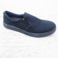 Sepatu Cowok / Sepatu Cewek / Sepatu Slip On Vans Tb slpkvsHitam Hitam