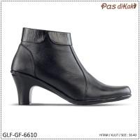 Sepatu Formal Pantofel Boot Ankle Block Heel Wanita | GLF-GF-6610