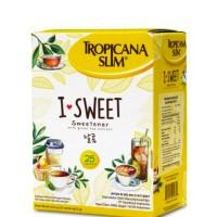 TROPICANA SLIM Sweetener I Sweet 25 S x 2.5 G Gula Diet Rendah Kalori