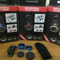 FISH EYE 3 IN 1 UNIVERSAL / UNIVERSAL CLIP LENS