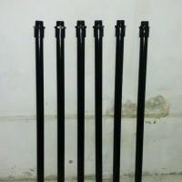 Tiang besi Untuk Lampu Taman Tinggi 1 meter