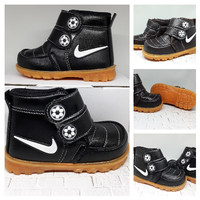 Sepatu Anak Laki Laki Boot Nike Hitam Usi 1 2 3 4 5 Tahun