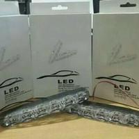Lampu Led Drl 6 Led Mobil Yaris