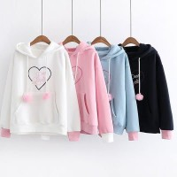 Sweater Wanita Atasan Jaket Murah Muslim Blouse Hijab Kode HS65037