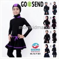 Baju Renang Anak Muslimah Ukuran M, L dan XL ML-TG-P-007