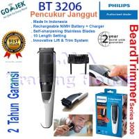 Pencukur Jenggot Philips - Shaver Philips - BeardTrimmer BT3206