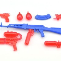 LittleArmory [LA040] Water Gun B 1/12 Plastic Model