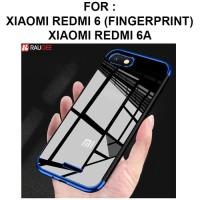 Case Xiaomi Redmi 6 - Redmi 6A softcase casing back cover TPU PLATING - Redmi 6, Gold