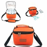 promo tas mino cooler bag orange / jual tas asi murah free ice gel