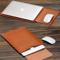 Sarung laptop 13in Kulit - Leather Case Sleeve notebook 13 inci