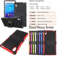 OPPO A37 A37f Rugged Armor Stand Bumper Hard Soft Case Casing Sarung