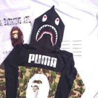 Bape x Puma Shark Hoodie not supreme assc off white marcelo champion