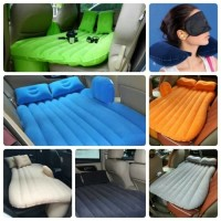 Kasur Mobil Matras Angin Travel Inflatable Smart Car Bed Pompa Listrik