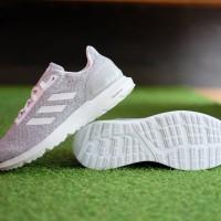 ORIGINAL Sepatu Adidas Cosmic 2 Grey White Running Sneakers