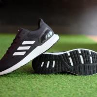 ORIGINAL Sepatu Adidas Cosmic 2 Coreblack White Running Sneakers