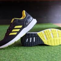 ORIGINAL Sepatu Adidas Cosmic 2 Carbon Yellow Black Running Sneakers