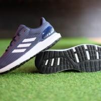 ORIGINAL Sepatu Adidas Cosmic 2 Multicolor White Blue Running Sneakers