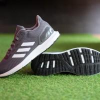 ORIGINAL Sepatu Adidas Cosmic 2 Grefiv White Grey Running Sneakers