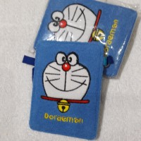 gantungan id card holder / name tag motif doraemon