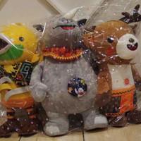 1set 3pcs Boneka JUMBO Premium Edition Asian Games