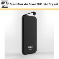 Power Bank Vizz Devon 6000 mAh Original Powerbank 6000mAh Tipis Ori