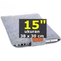 SOFT SARUNG Laptop 15 inchi Sleeve Case