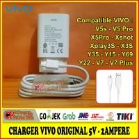 Charger Casan Vivo Original Micro USB V5s X5 Pro V9 Y35 Y22 Y15 X3s 2A