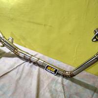 Leheran knalpot racing honda CBR150R facelift CB150R facelift