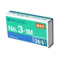 Isi Staples Max no. 3 - 1M 24/6 Steples Hekter Besar