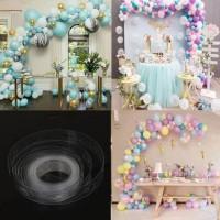 1 Roll Panjang 5 meter Ballon Chain Tape Strip u/ Dekorasi Balon