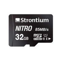 Strontium Nitro 32GB Micro SDHC Memory Card 85MB/s Class 10 w/Adapter