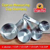 Cyprus Measuring Cup Stainless