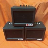 Ampli Gitar & Bass Ampli mini 4in Merk RAF bonus kabel jek 3meter
