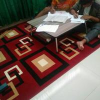 meja lipat besar/meja belajar bersama/ meja cafe lesehan minimalis/