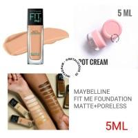MAYBELLINE FIT ME FOUNDATION MATTE+PORELESS SHARE IN JAR 5ML