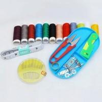 120 Set alat jahit sewing box set peralatan benang jarum lengkap